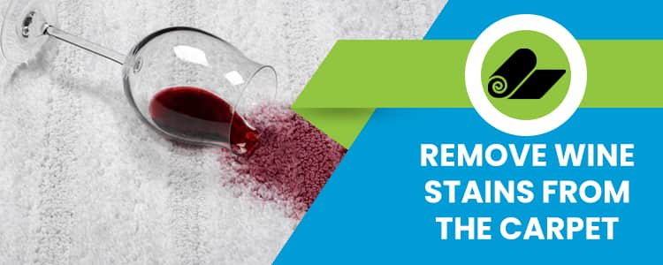 Remove Wine Stains From The Carpet